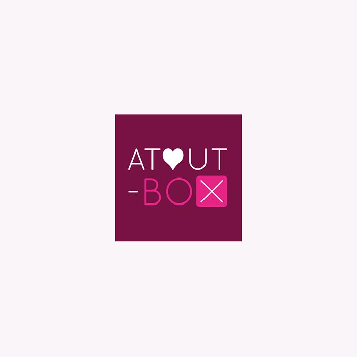Supports de communication Atout-Box stockage - Laura Frère graphiste