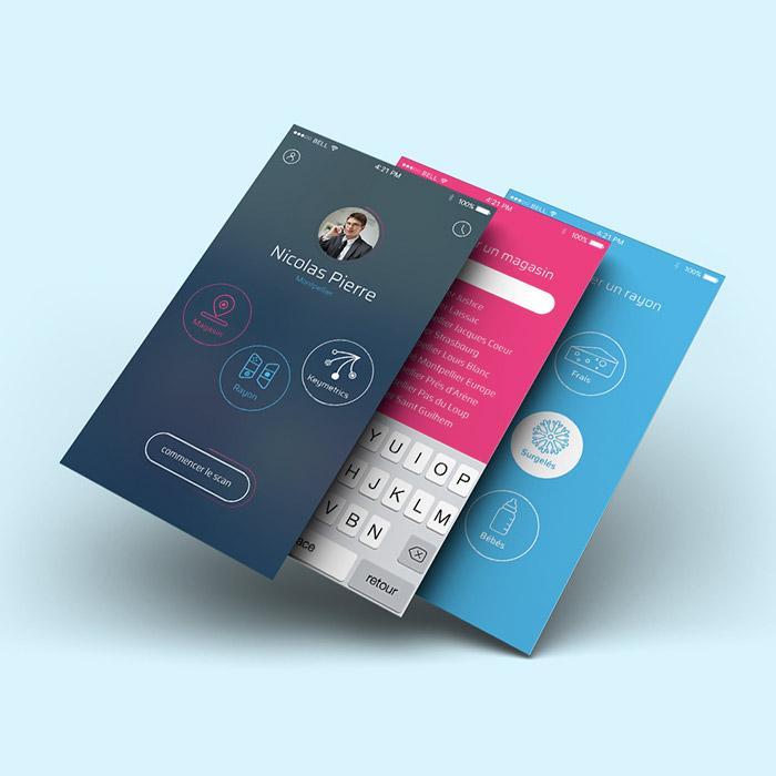 Webdesign application intelligence artificielle EasyPicki - Laura Frère