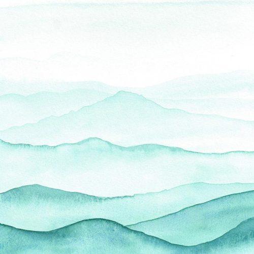 Paysages aquarelle - Illustration à la peinture - Laura Frère, graphiste
