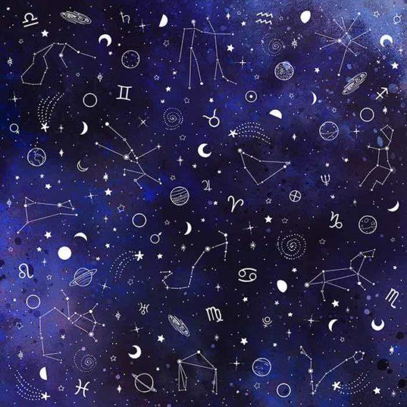 Illustration astrologie : motifs, symboles, signes - Laura Frère illustratrice